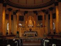 Interior de la Iglesia de la Asuncion